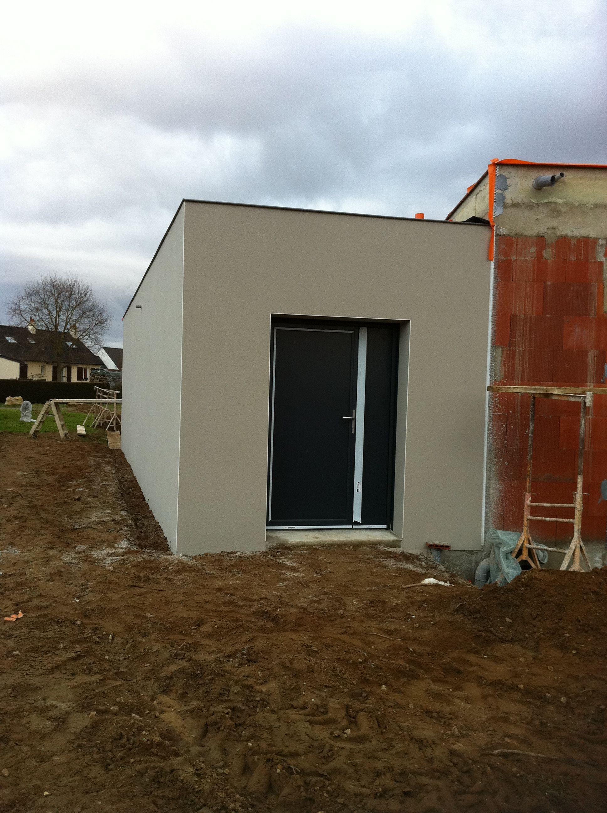 La saga de la casa toit plat page 10 - Mur privatif en limite de propriete ...